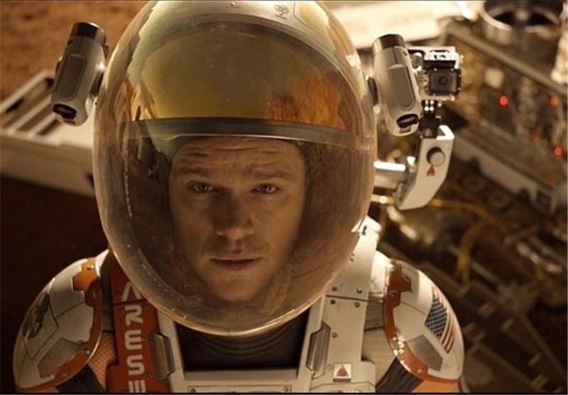 مریخی رایدلی اسکات مت دیمون