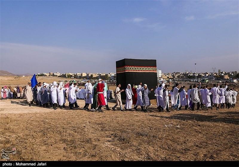 بازسازی واقعه غدیرخم در زنجان به روایت تصویر