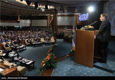 سخنرانی اسحاق جهانگیری معاون اول رئیس جمهور در همایش بین المللی معرفی فرصت های سرمایه گذاری در حمل و نقل ، مسکن و شهرسازی