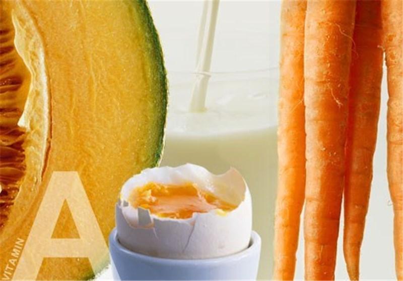نقش ویتامین A در سلامت بدن