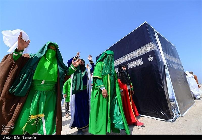 بازسازی واقعه غدیرخم در شیراز به روایت تصویر