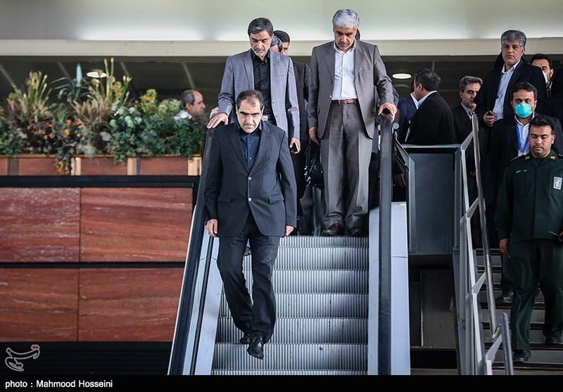 بازگشت وزیر بهداشت از عربستان
