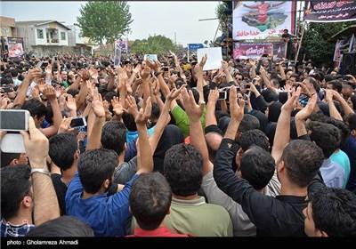 مراسم تشییع مرحوم هادی نوروزی کاپیتان اسبق پرسپولیس - مازندران