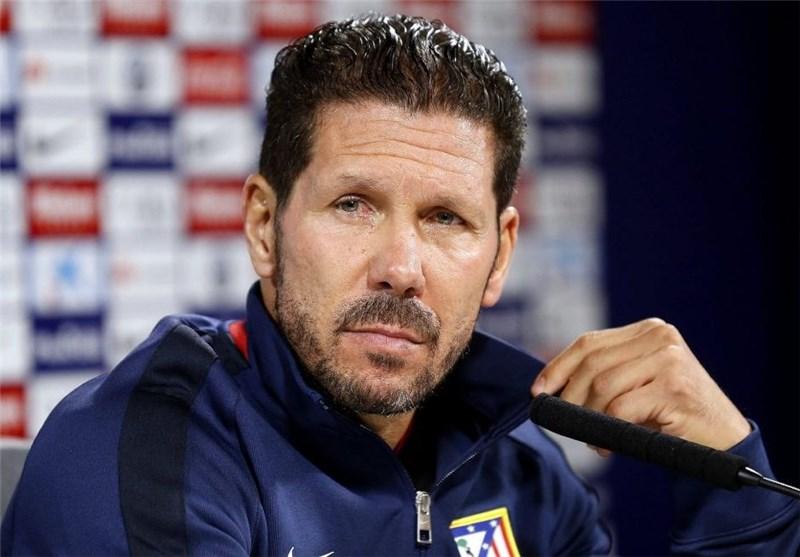 سیمئونه: احتمالاً با 3 مهاجم مقابل رئال مادرید بازی خواهیم کرد