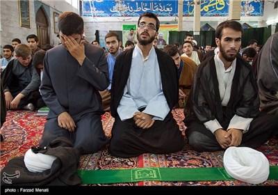 عمامه گذاری طلاب جوان در کرمانشاه