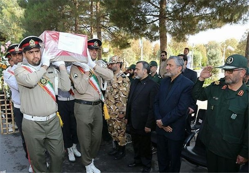 Iran Holds Funeral for Mina Victims