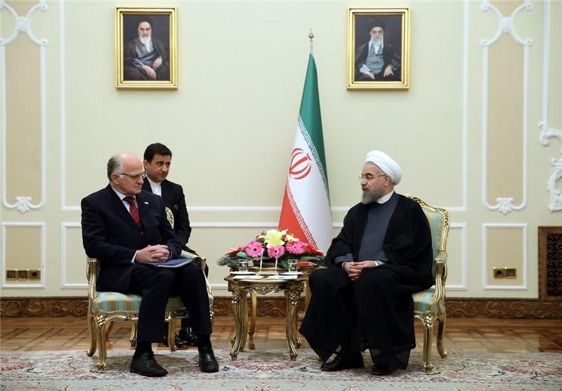 President: Iran Ready for Anti-Terror Cooperation with EU