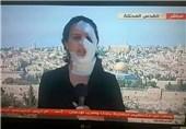 خبرنگار زخمی المیادین