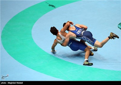 Iran's Greco-Roman Wrestling Team Trained in Tehran