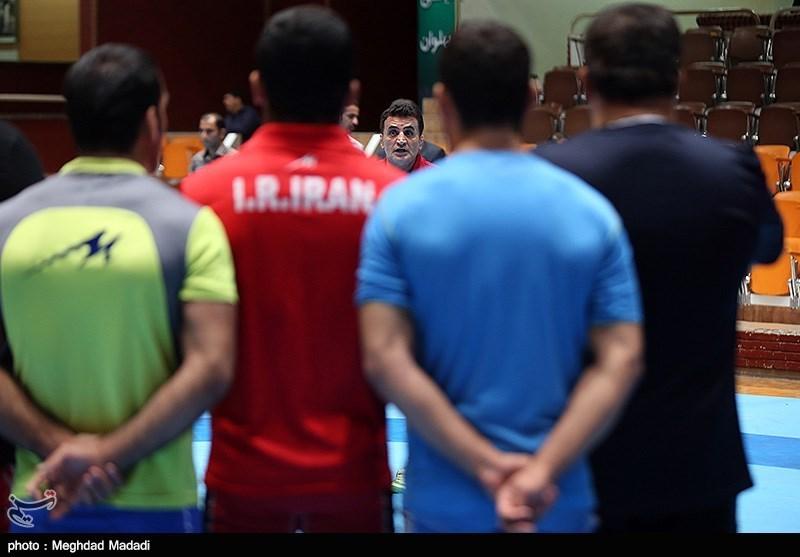 Iran's Greco-Roman Wrestling Team Trained in Tehran
