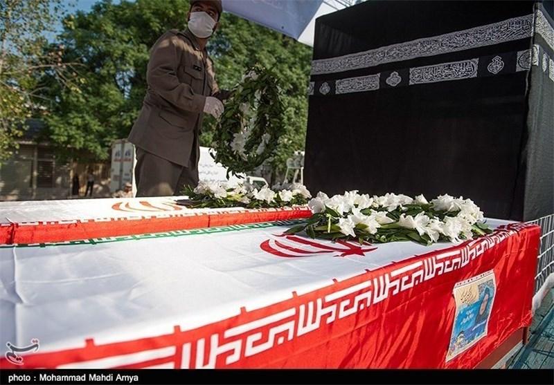 مردم آبادان با جانباخته خوزستانی فاجعه منا وداع کردند