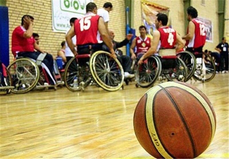 Iran Wheelchair Basketball Drawn with USA at Rio 2016