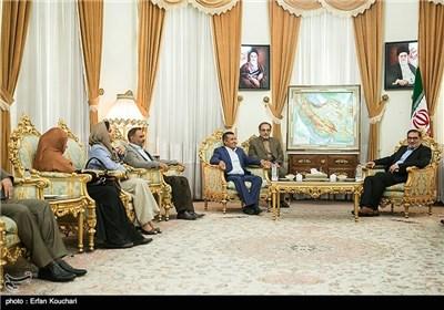 SNSC Secretary Shamkhani Meets Yemeni Delegation in Tehran