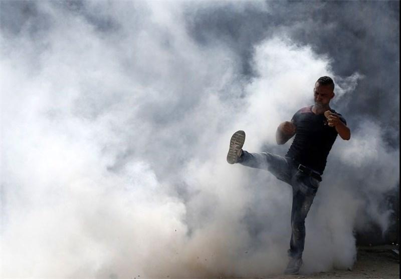 إصابات واعتقالات خلال مواجهات فی البلدة القدیمة بالقدس واصابة مستوطنین