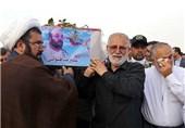 خوزستان|پدر شهید قنواتی به فرزند شهیدش پیوست