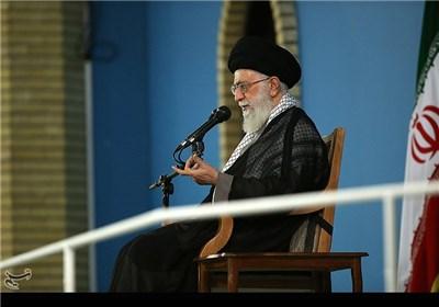Supreme Leader Meets IRGC Navy Commanders, Personnel