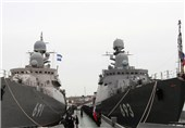 4 Russian Warships Launch 26 Missiles against ISIL from Caspian Sea