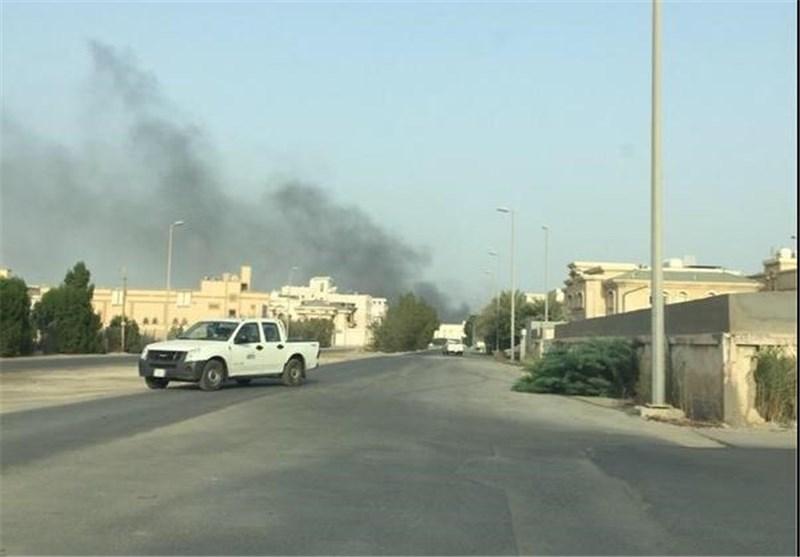 القوات السعودیة تقتحم العوامیة بالمدرعات وتصاعد للدخان + فیدیو وصور