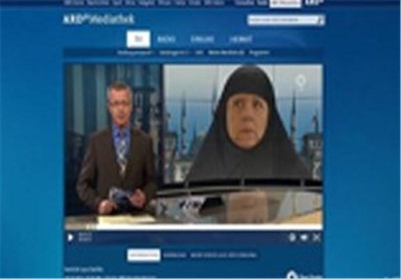 مرکل و حجاب