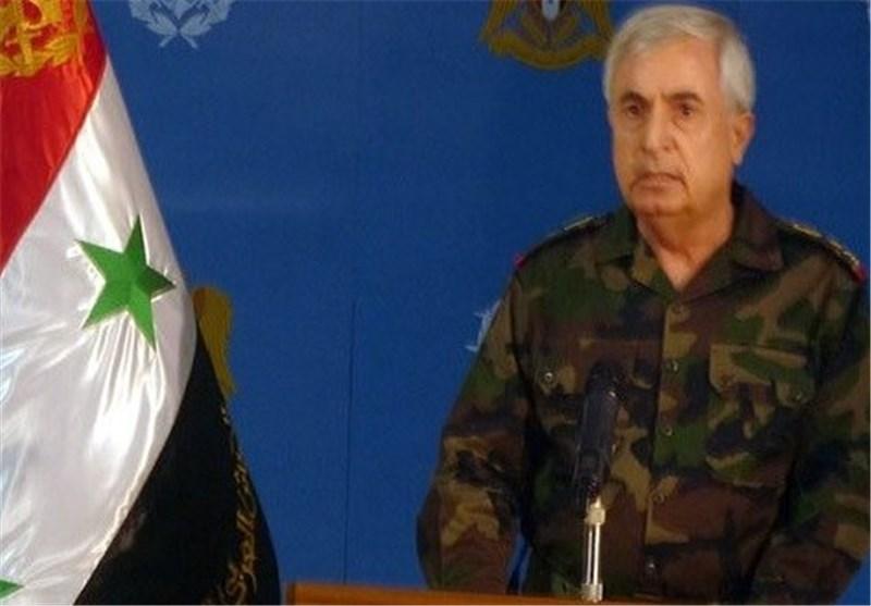 قائد عسکری سوری: القوات المسلحة بدأت هجوما واسعا للقضاء على الإرهابیین