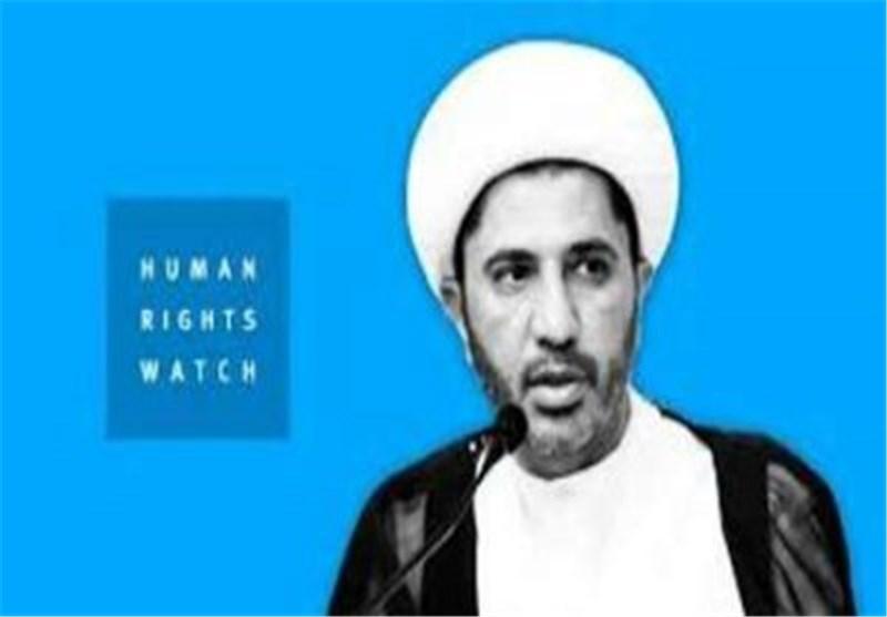 هیومن رایتس ووتش تطالب البحرین باطلاق سراح زعیمی المعارضة