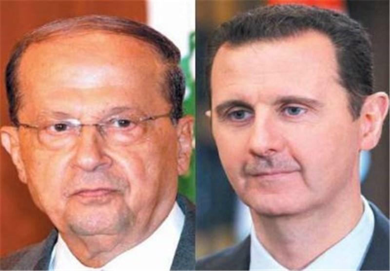 بشار الأسد - میشال عون