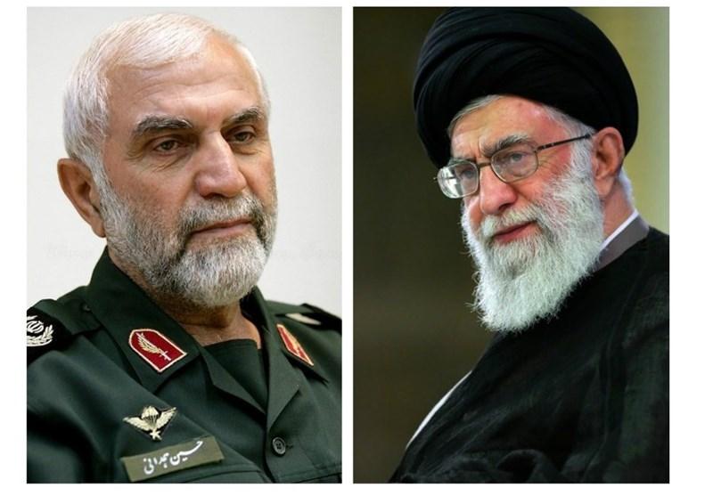 Leader Condoles Martyrdom of IRGC General in Syria