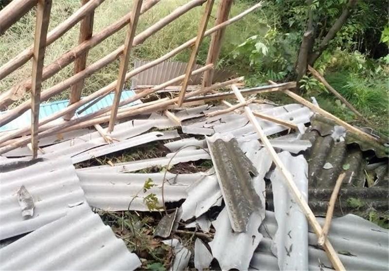 سیلاب 2 واحد آموزشی در سوادکوه را تخریب کرد/ راه ارتباطی محور کندوان مسدود شد
