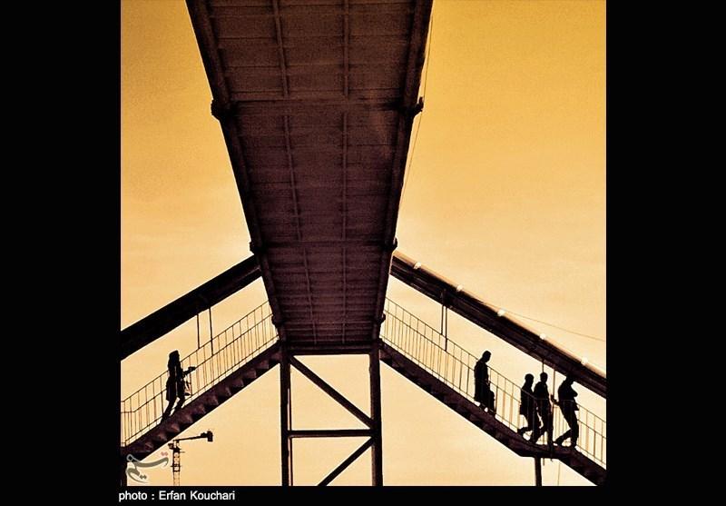 پل عابر پیاده - تهران