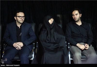 همسر و فرزندان شهید سرلشگر حسین همدانی