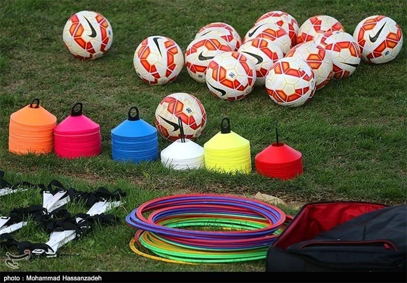 توپ فوتبال، توپ نایکی، تمرین تیم ملی فوتبال