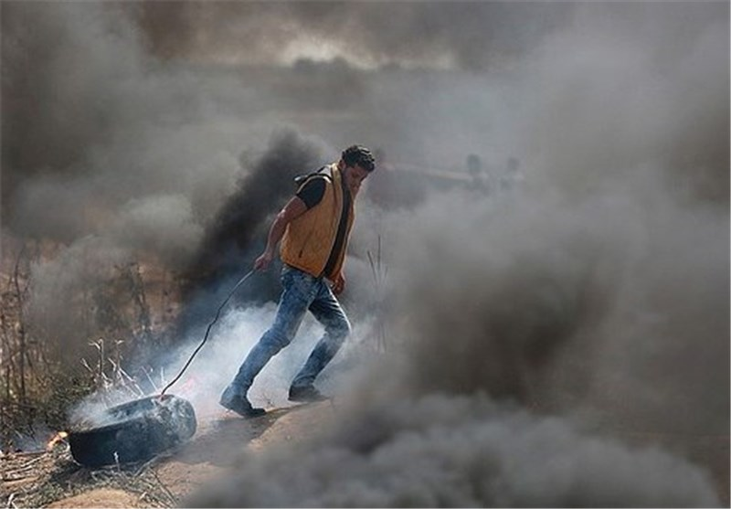 درگیری مسلحانه مبارزان فلسطینی با نظامیان صهیونیست در شرق رام الله