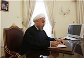 President Rouhani Lauds Iran's Progress in Defense Sector