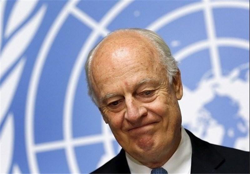 دی میستورا یتوجه إلى موسکو ویعتبر التدخل العسکری الروسی فی سوریا جلب آلیات جدیدة