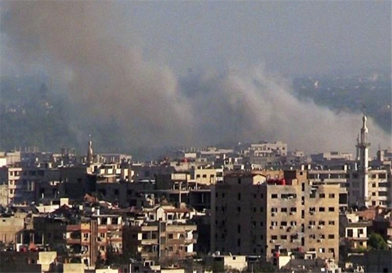 تعرض السفارة الروسیة فی دمشق للقصف بقذائف الهاون