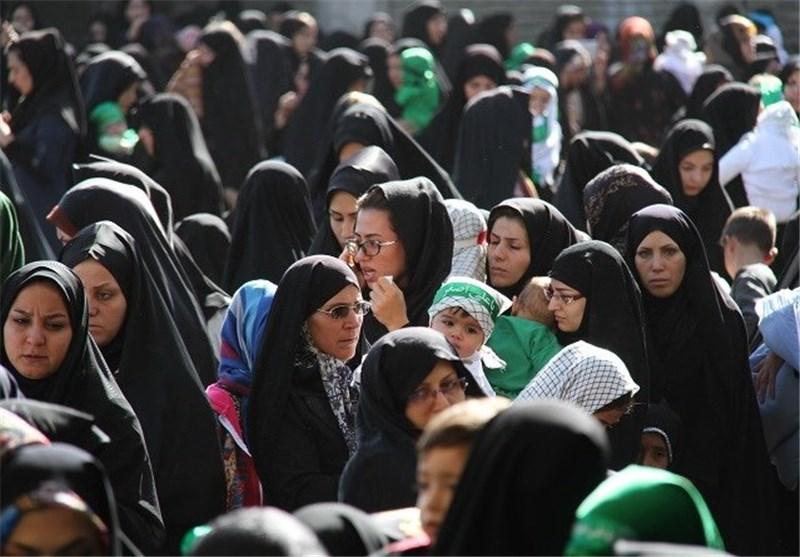 مراسم شیرخوارگان در زنجان