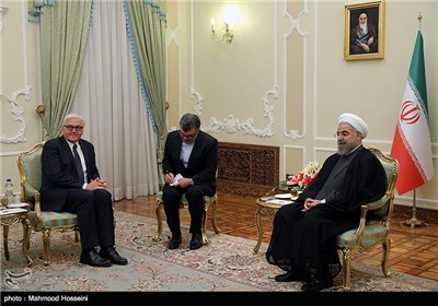 Germany's Top Diplomat Meets Iranian President
