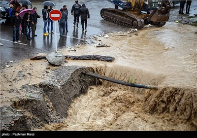 Torrential Rains Flood North of Iran