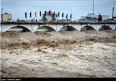 طغیان رودخانه چشمه کیله تنکابن - مازندران
