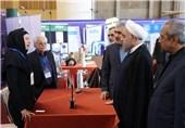 بازدید روحانی از نمایشگاه دستاوردهای شرکتهای دانش بنیان اقتصادی