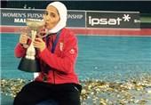 غلامی: به دنیا نشان دادیم دختران ایران سربلند هستند/ مقتدرانه قهرمان شدیم