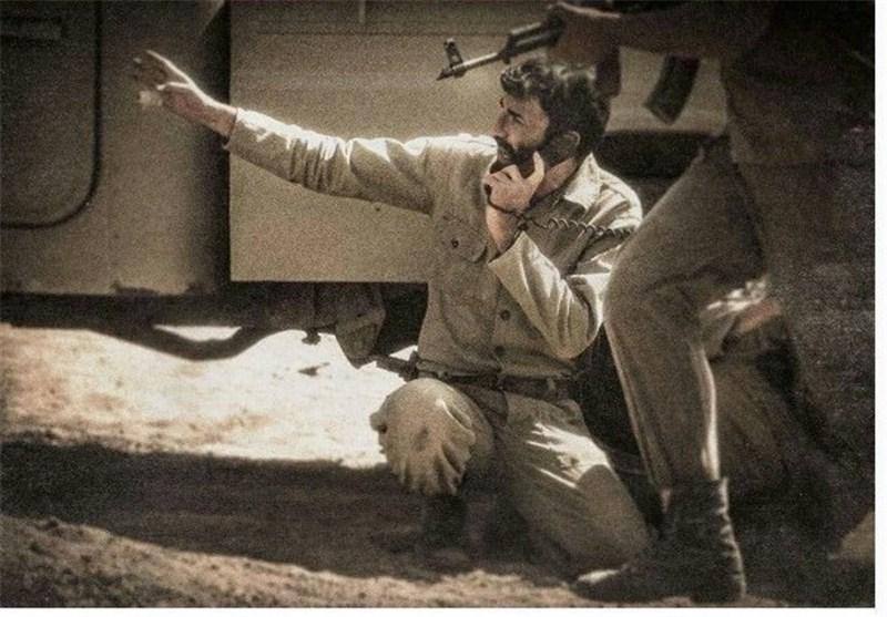 اولین تصویر از احمد متوسلیان در فیلم «ایستاده در غبار»