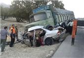 6 کشته و 8 مجروح در تصادفات جادهای استان کرمان/انتشار