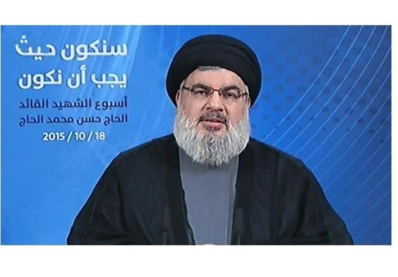 Nasrallah Calls New Intifada Only Way to End Israeli Occupation