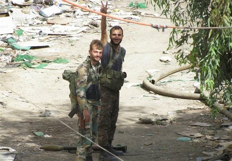 """الغوطة الشرقیة بریف دمشق على خط النار ومجموعة المهام الخاصة تنفذ عملیة نوعیة فی حی """"جوبر""""+صور"""