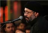فیلم / مداحی محمود کریمی در اربعین حسینی