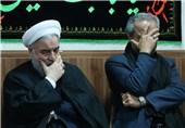 حضور روحانی در بیمارستان شهید فیاضبخش و عزاداری در محله خلیجفارس