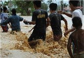 Flood Misery in Philippines after Typhoon Kills 22