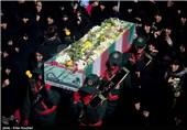 تشییع و خاکسپاری پیکر مطهر 12 شهید گمنام در 4 استان + جزئیات