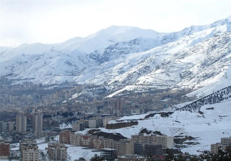 مناطق کوهستانی استان مازندران سفیدپوش شد
